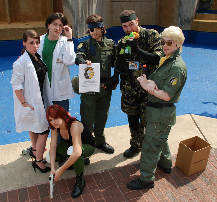 Metal Gear Solid Otakon 2010 by Hayabusa72