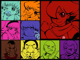 Cyborg 009 by lemons-and-peach