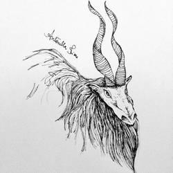 Unholy creature by antonellafiore