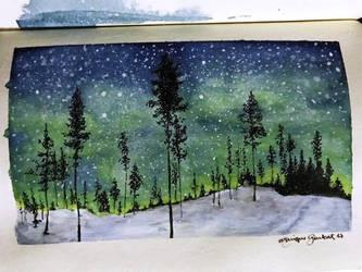 Aurora Boreal by antonellafiore
