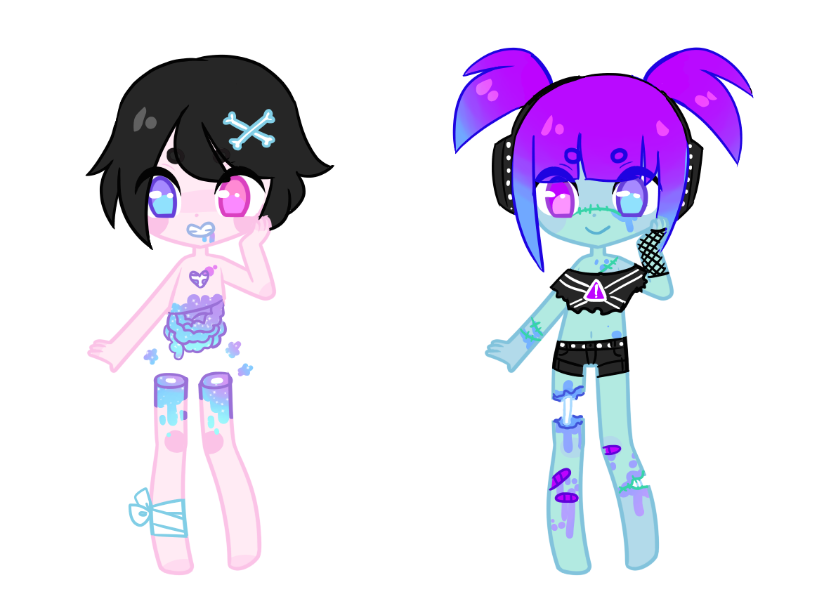 pastel gore adopts by - photo #1