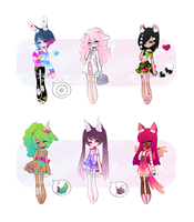 [Set Price] Dolorette Adopts [3/6 OPEN] by MaiaSadoptsNstuff