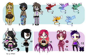 [Discount!!!] Leftover Adopts (2/13 OPEN) by MaiaSadoptsNstuff
