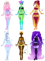 GooHearts Collab Adopts [5/6 OPEN] by MaiaSadoptsNstuff