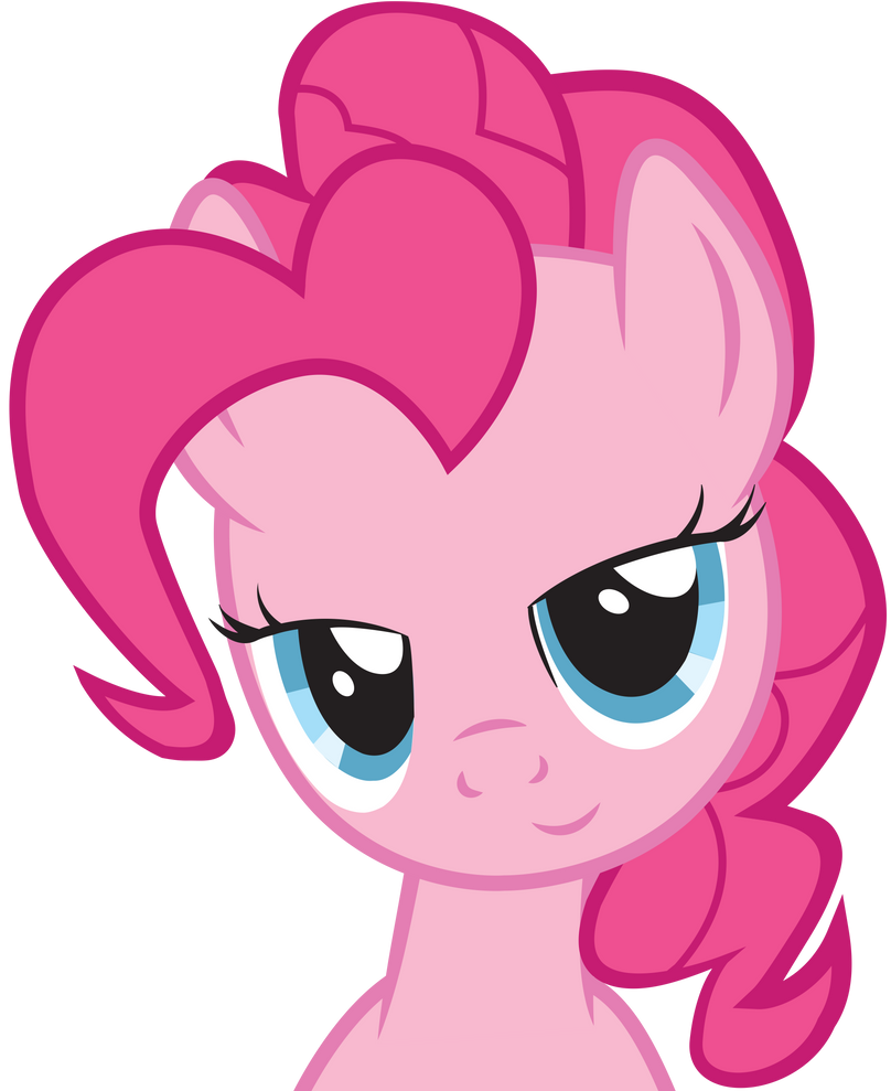 Dat Eyes Pinkie Pie by SlyFoxCl