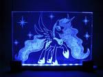 MLP - Princess Luna (ENGRAVE+LED)