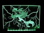 MLP - 'Queen Chrysalis' (ENGRAVE+LED)