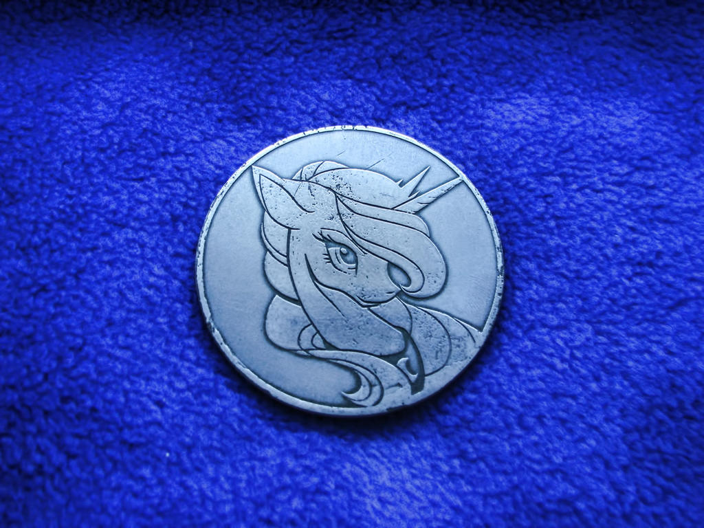 MLP  'Princess Luna' (ElectroChemical Etching) by Ksander-Zen