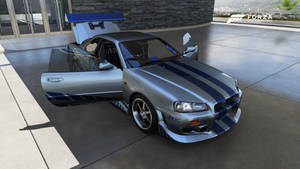 Brian's 1999 Skyline R34 from 2 Fast 2 Furious