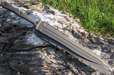 2 Hand Gladius by GageCustomKnives