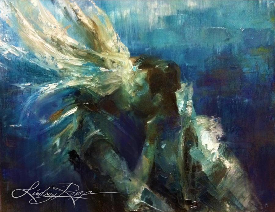 Underwater Kiss by LindsayRapp