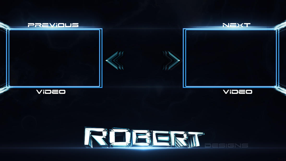 Outro template by robert designs by rtutorials4all on deviantart for Outro image