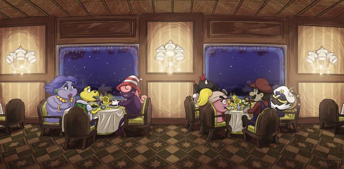 Paper Mario: The Thousand Year Door fan art
