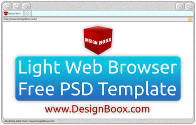 LightWebBrowserTemplate by DesignBoox