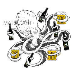 Octopus by Matousu