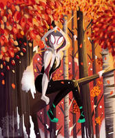 Fan Art Spider-Gwen by Matousu