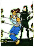 Korra and the equalist in color