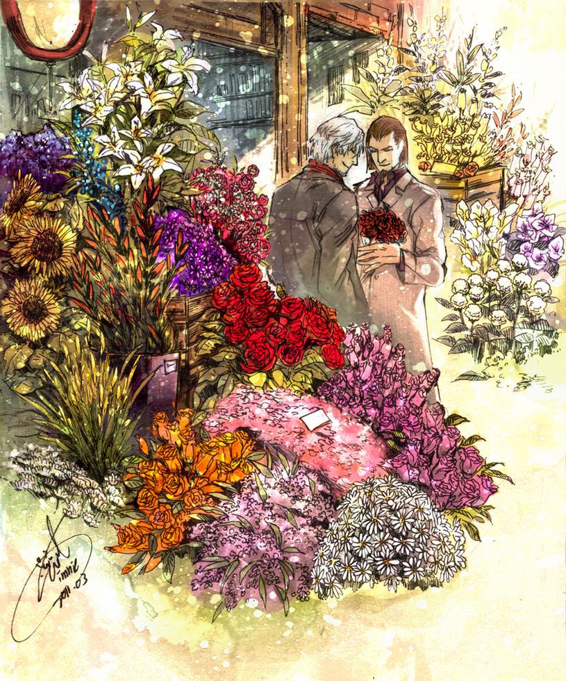 Bouquet by evilwinnie