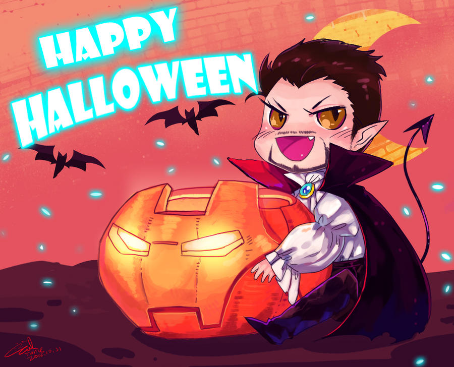 Happy Halloween by evilwinnie