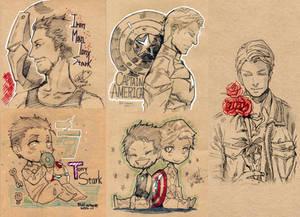 Avengers graffiti