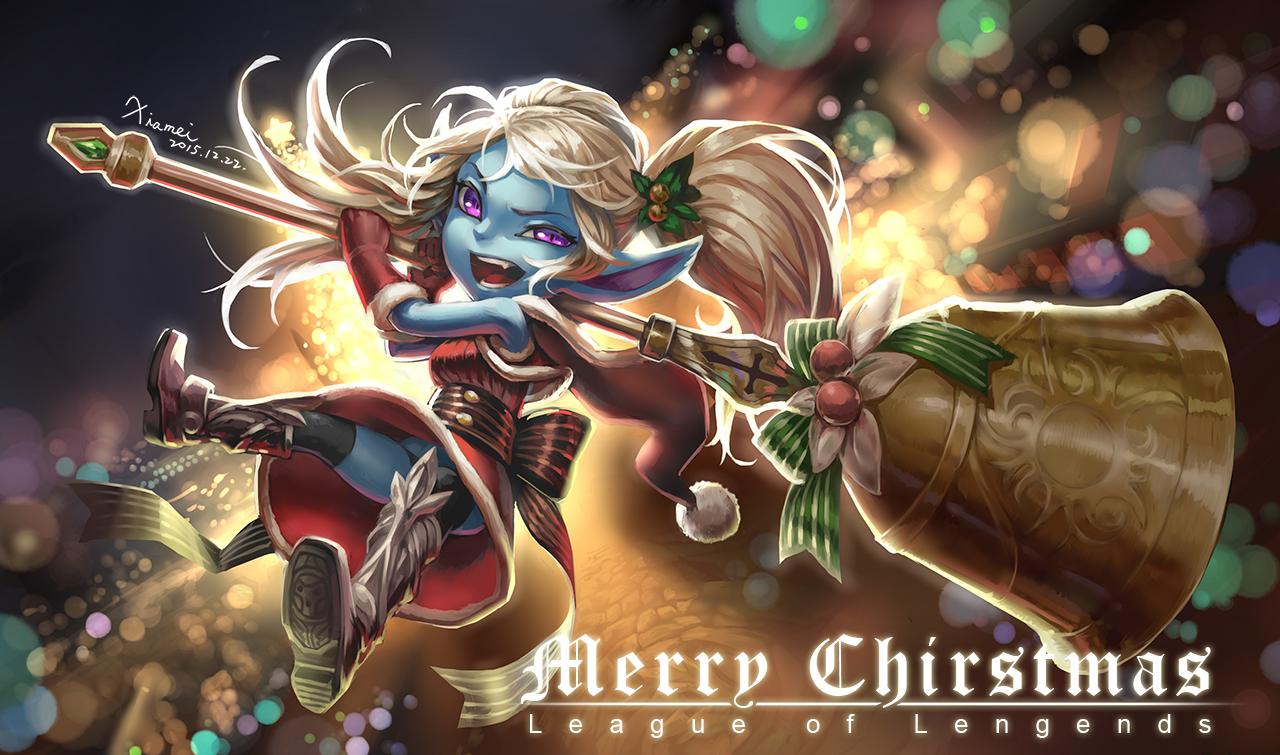 League Of Legends Poppy Wallpaper: [LoL]Chirstmas Poppy By Moon801205 On DeviantArt