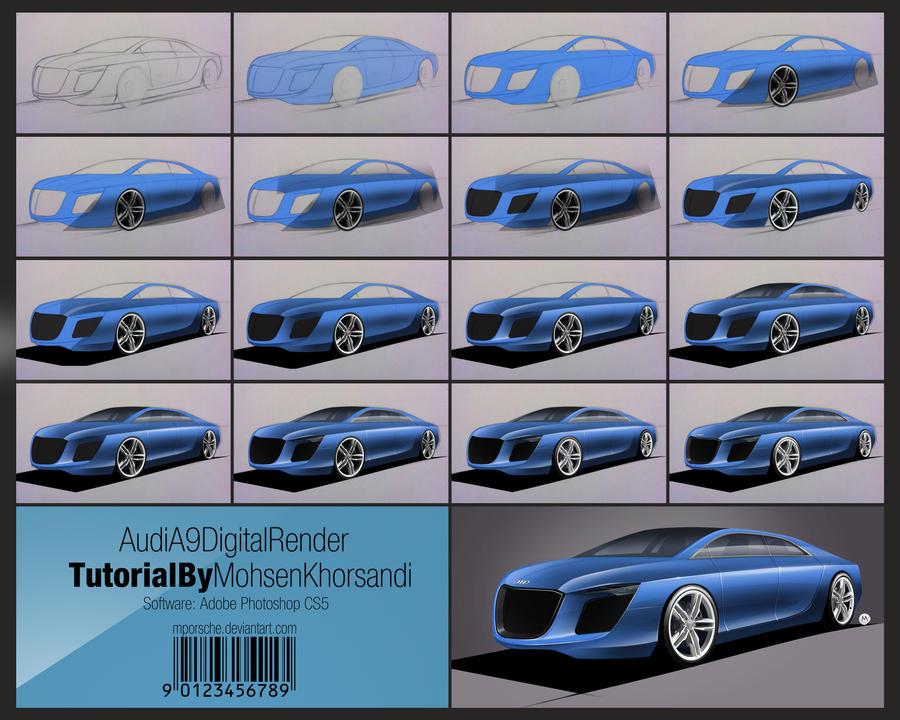 Audi A9 Tutorial by mporsche