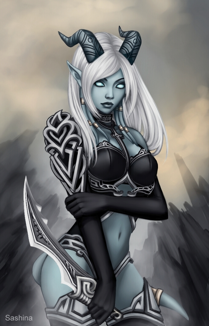 Superstar Wow Nude Draenei Pic