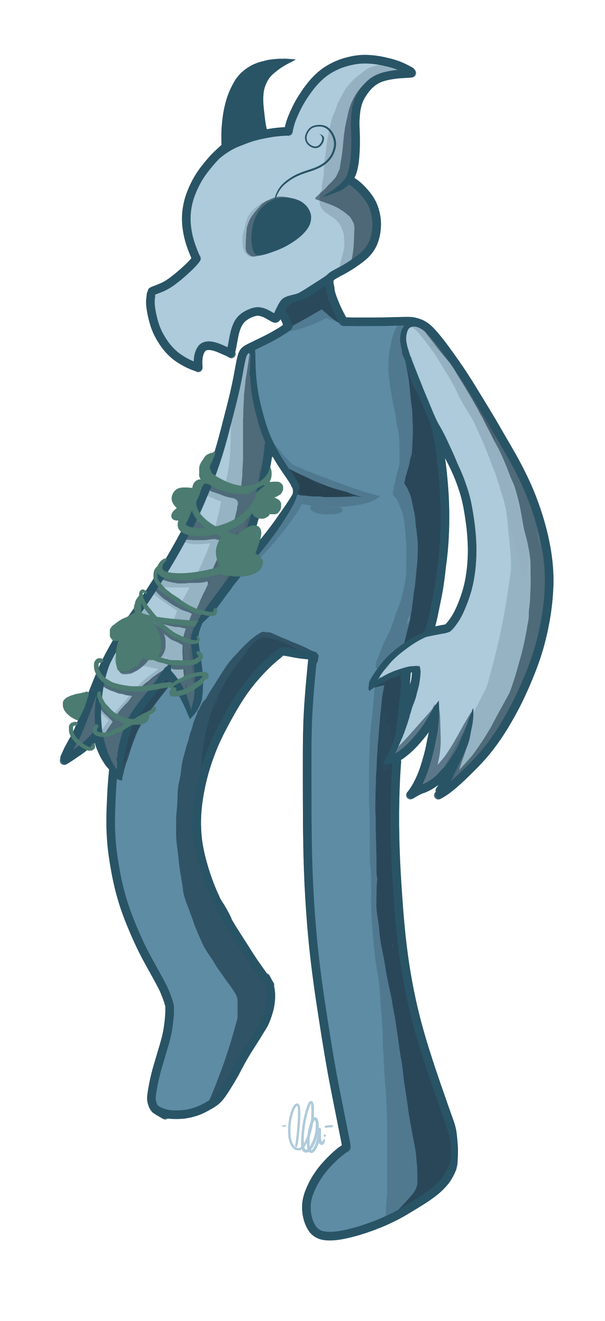 EdgyLwnFlamigo's character (Ivy) by kangaroo722