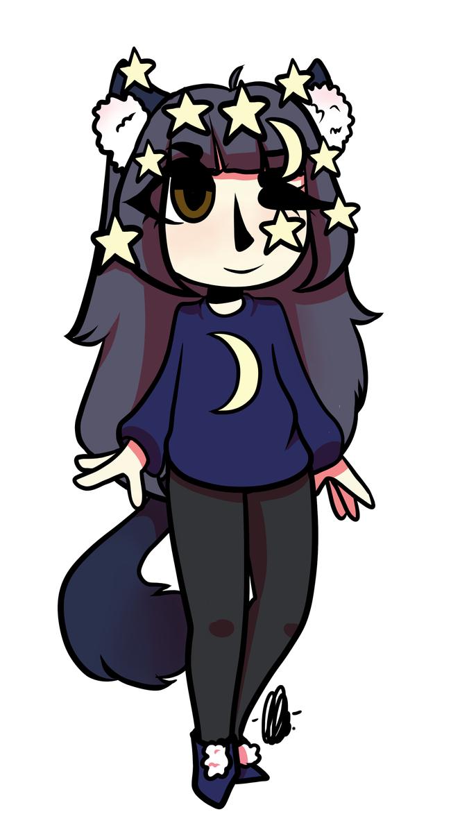 Tsukiko (smollawliet) by kangaroo722