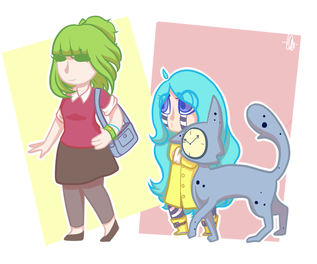 Walking (updated with changed colours) by kangaroo722