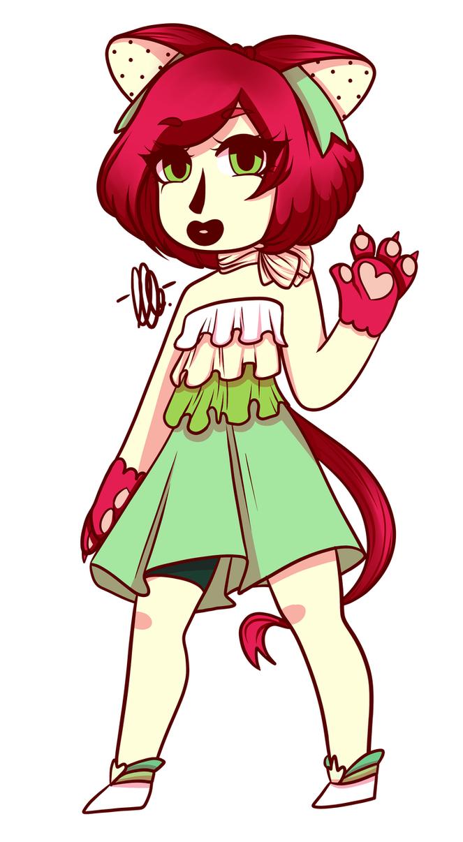 Ribbon cat girl :3 (Arlie-Hime) by kangaroo722