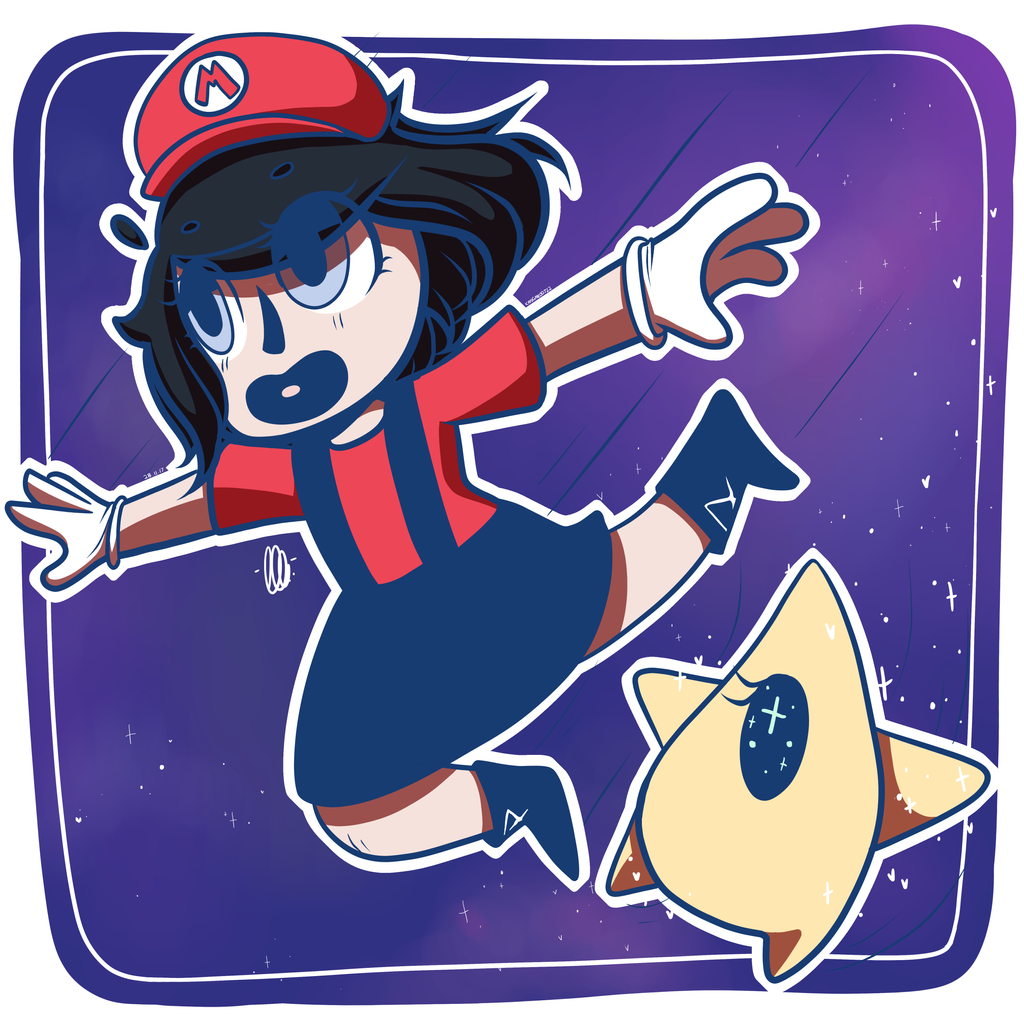 Super Mario Galaxyyy by kangaroo722