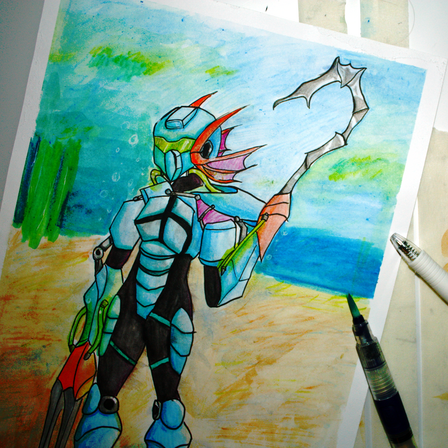 The Aqua Reaper - alt by rxr1