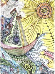 The Iguana Ship by chilinAtTeva