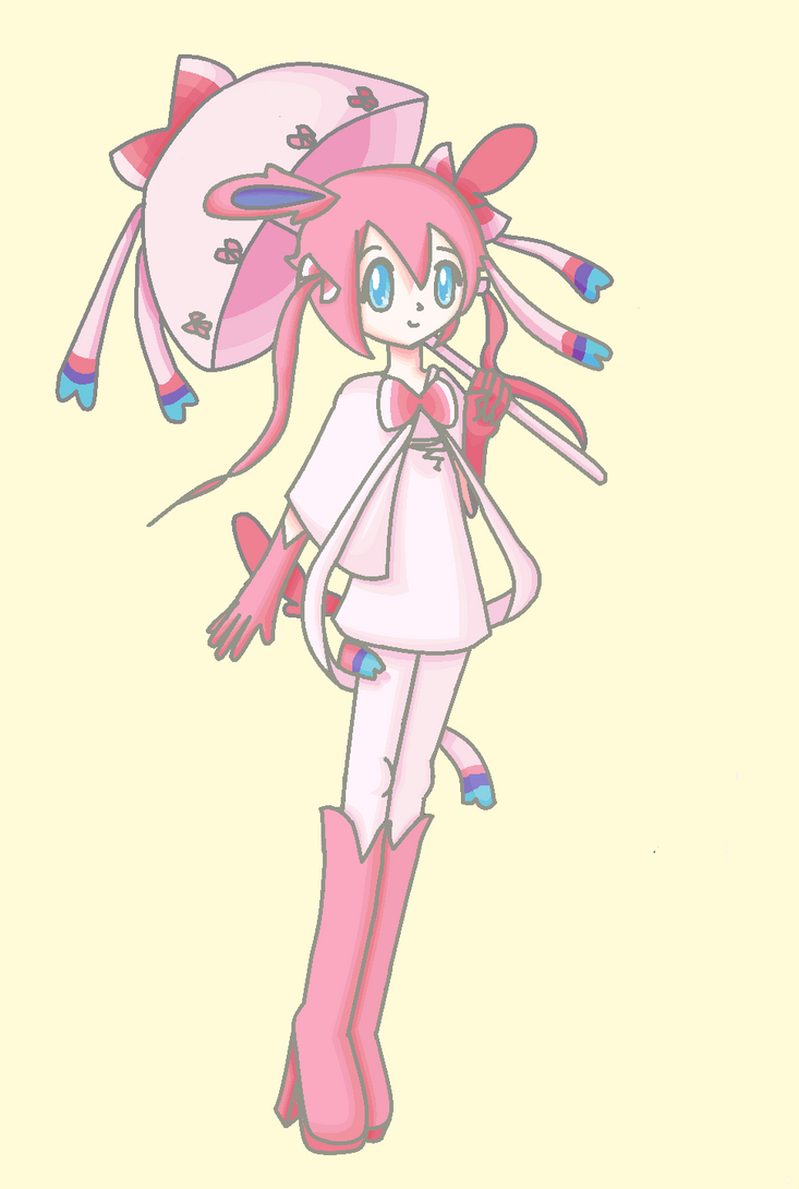 Sylveon Gijinka By Kittystar123 On Deviantart