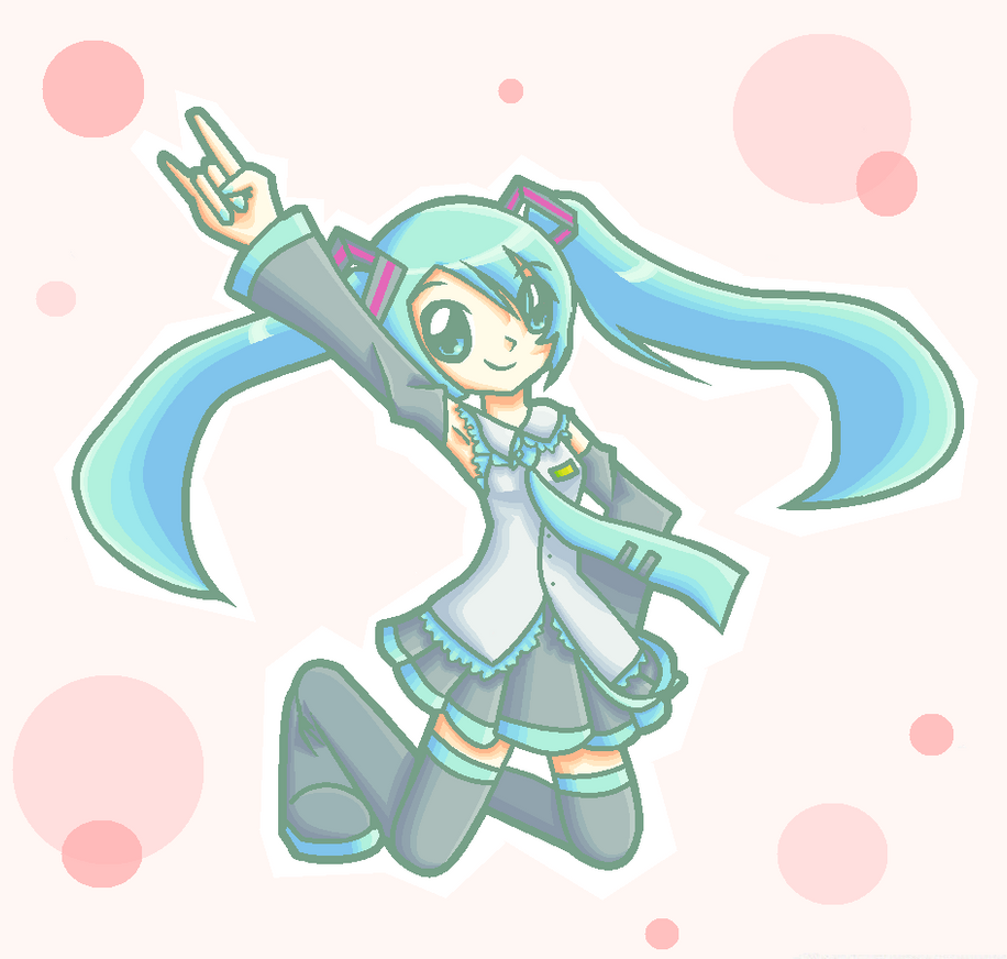 Miku by kittystar123