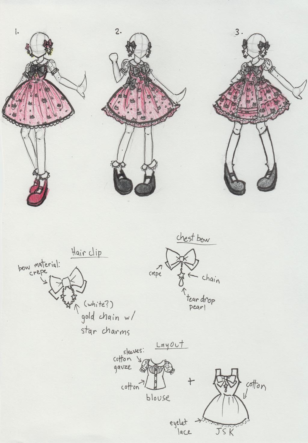 Ladybug Fashion Design