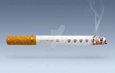 No games for smokers by Designworldwide