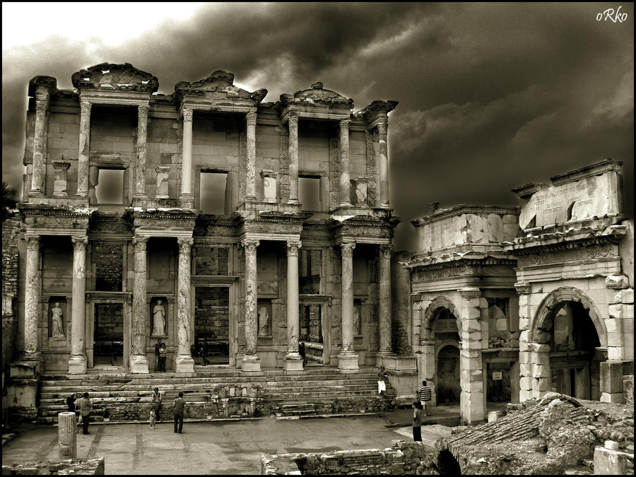 Celsus Library wallpaper by orcunceyhan on DeviantArt