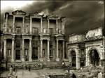 Celsus Library wallpaper