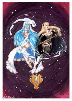 [Fanart] Fire Emblem Fates - Corrin and Azura