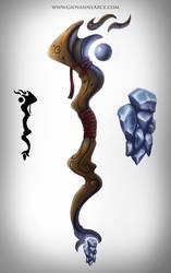 Magic wand concept art