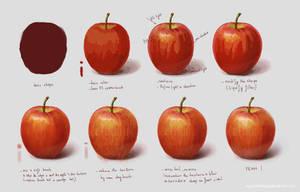 Study Fruit Apple by NhacuaDau