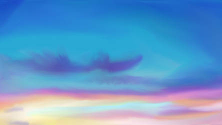 Sunset by Kuraudiachan