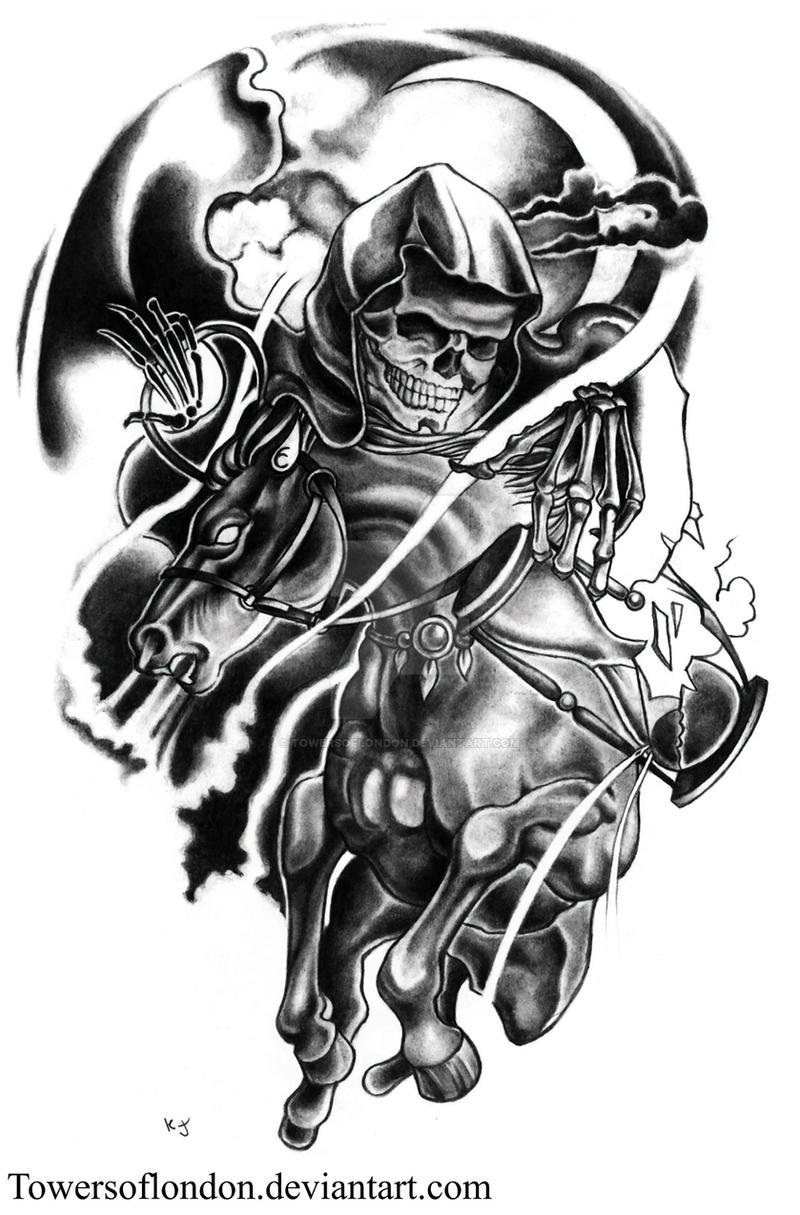 m shadows horseman tattoo w i p 1 by towersoflondon on deviantart. Black Bedroom Furniture Sets. Home Design Ideas