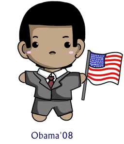 Obama chibi by sakura02