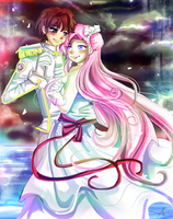Suzaku and Euphemia by sakura02