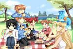 Anime picnic by sakura02