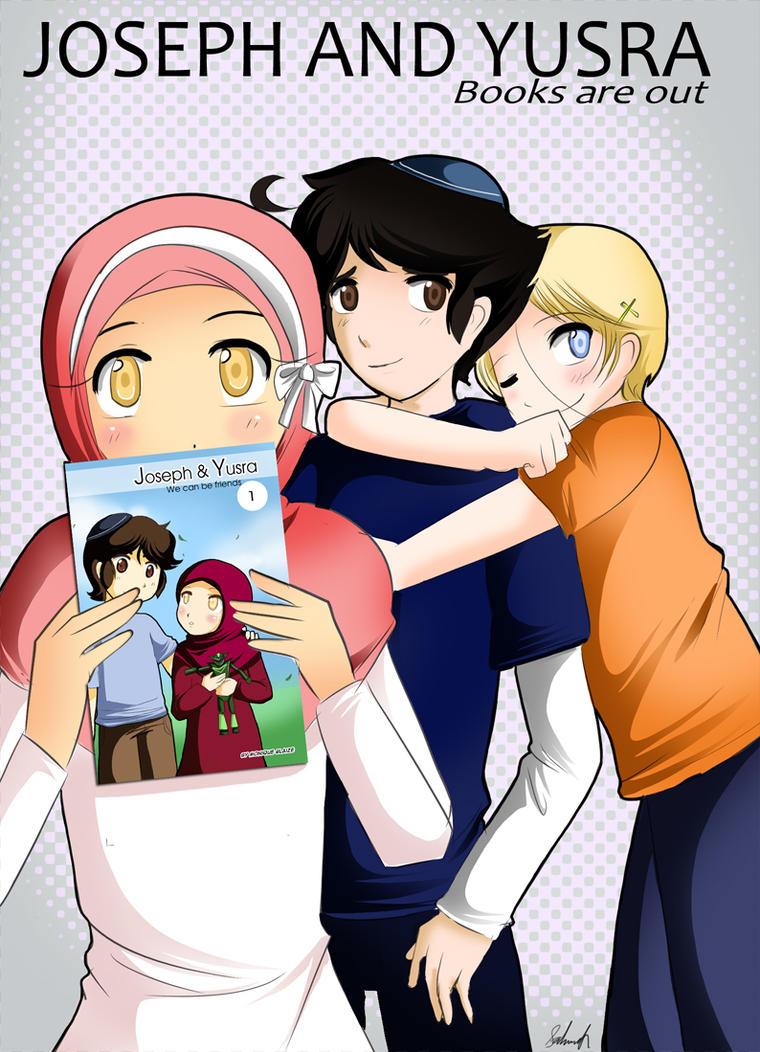 Joseph and Yusra books by sakura02