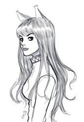 Horo OC sketch by fleng